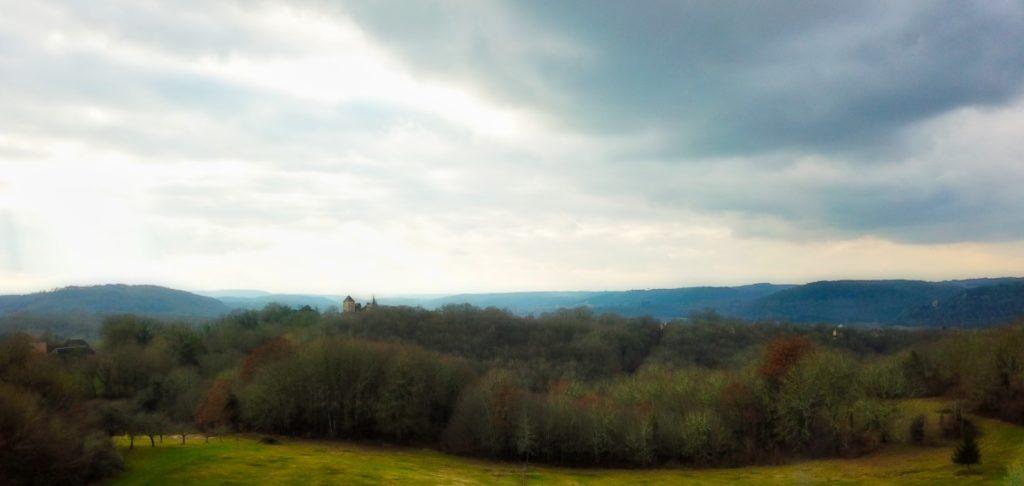 Panorama par drone Saint Julien de Lampon