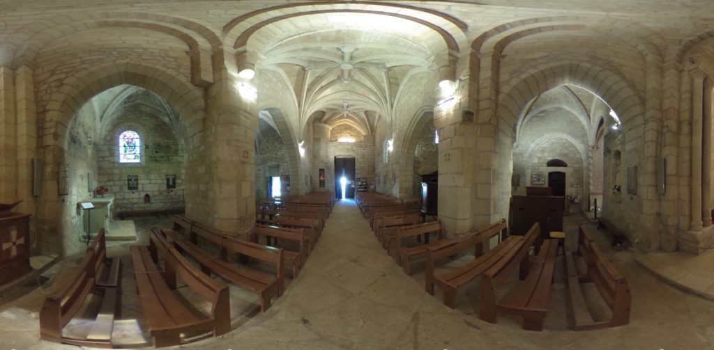Visite virtuelle église Saint Caprais Carsac