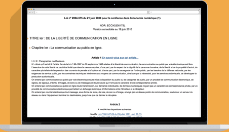 Mentions légales Pixeligo.fr
