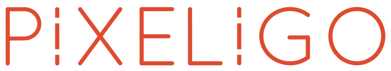 Logo Pixeligo, Agence Web Photo Drone Pays de Fénelon