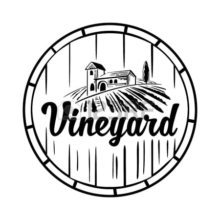 Exemple de logo Vineyard