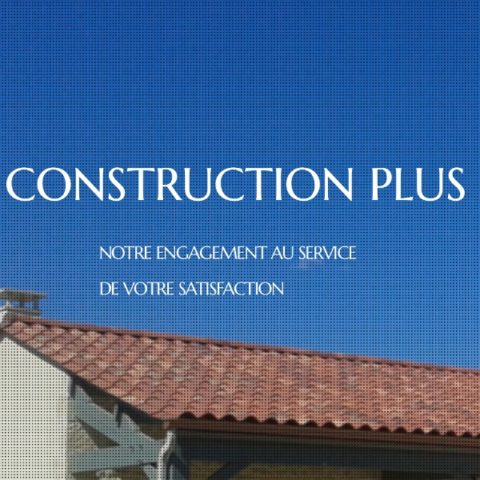 Site Internet Construction Plus par Pixeligo