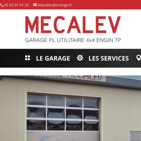 Garage Poids Lourds MECALEV à Cazoulès dans le Lot