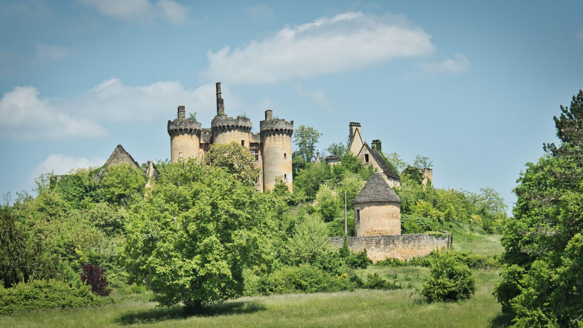 Château de Paluel en Dordogne