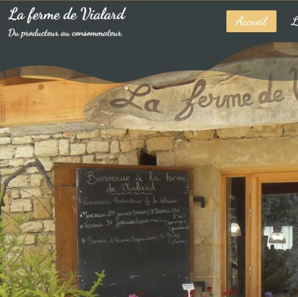 Ferme de Vialard, association de producteurs