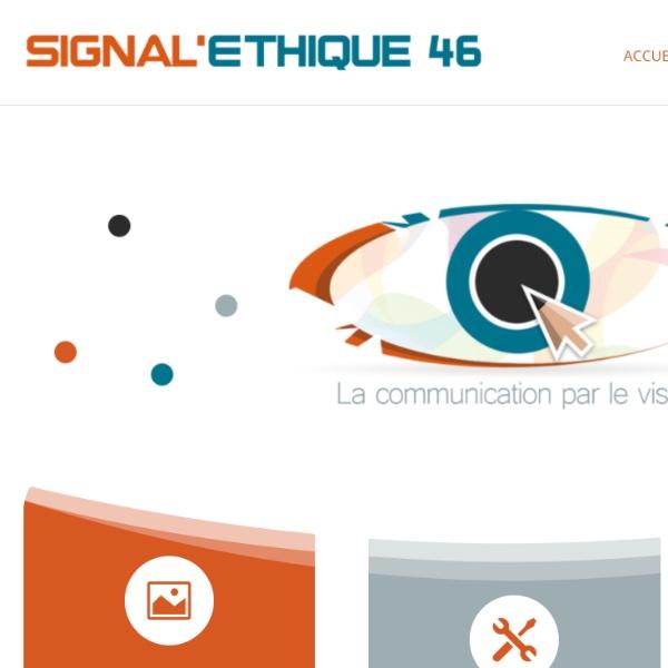 Signal Éthique 46, la communication par le visuel à Souillac