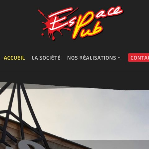 Création du site Internet Espace Pub à Carsac / Sarlat