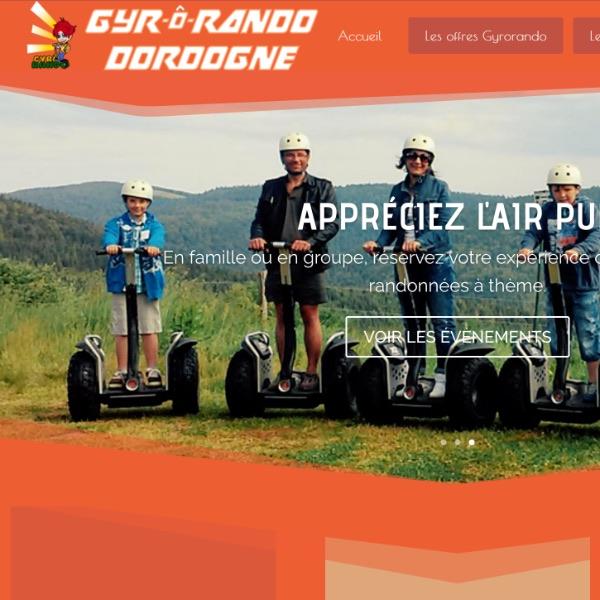 Création de Site Internet pour Gyrorando en Dordogne