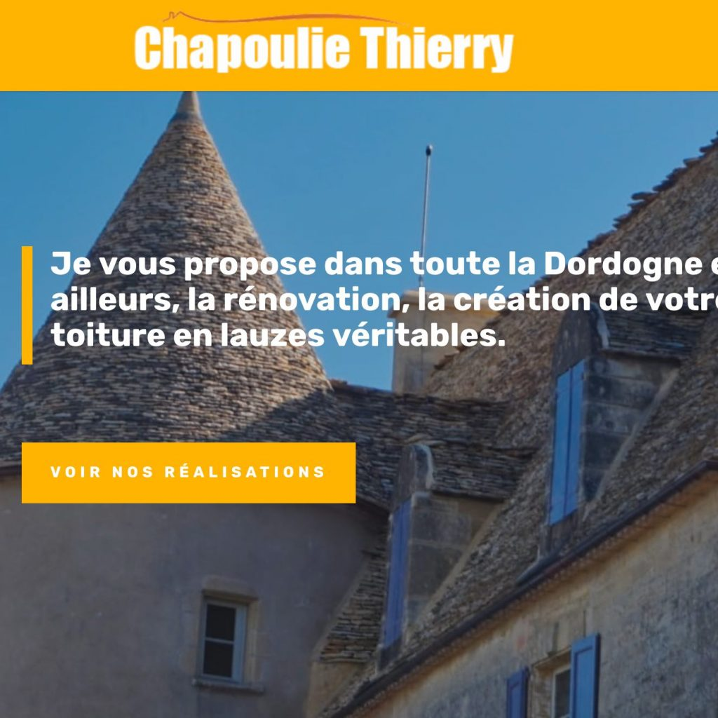 refonte RGPD site internent Chapoulie Lauze