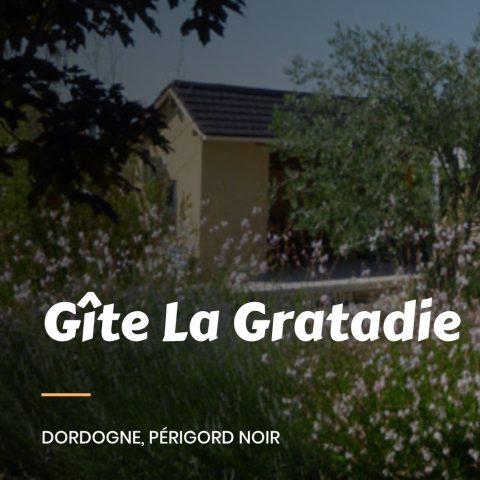 Site Internet Dordogne Gîte La Gratadie