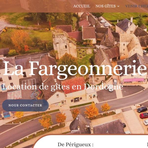 Création site internet Saint Geniès La Fargeonnerie