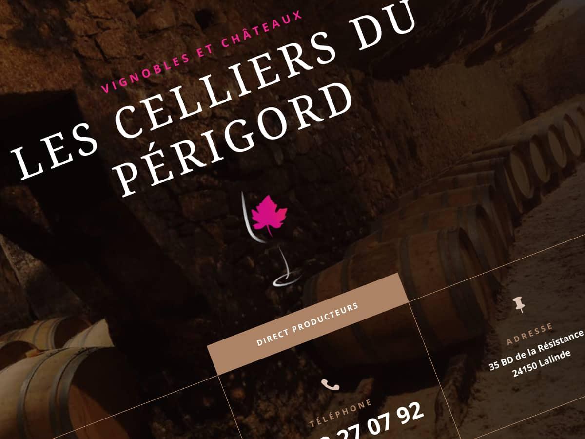 Site Internet Château Le Brézéguet