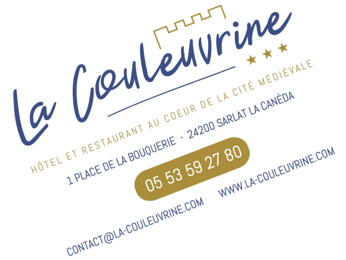 Charte graphique Hôtel La Couleuvrine