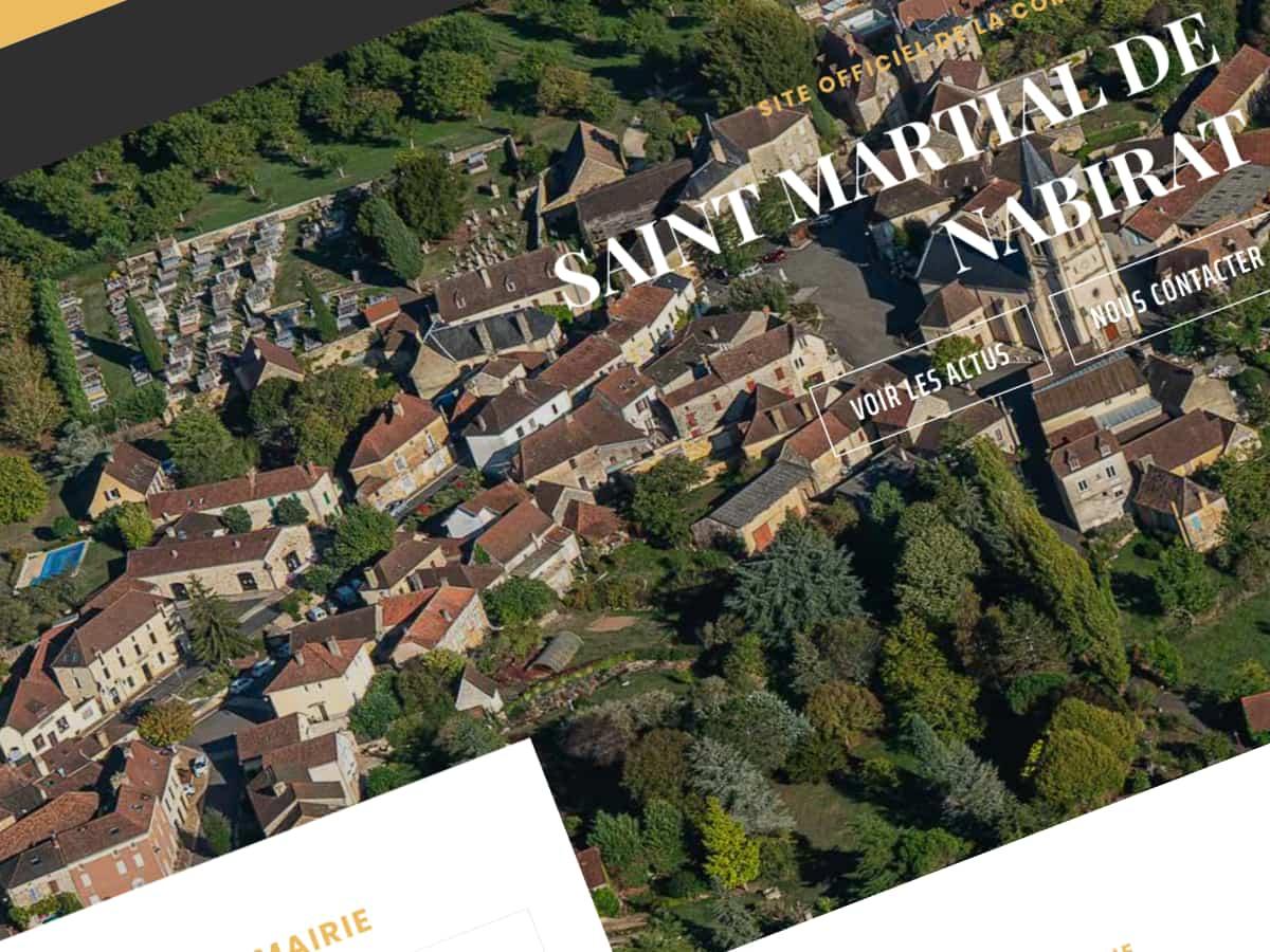 Site Internet Commune de St Martial de Nabirat
