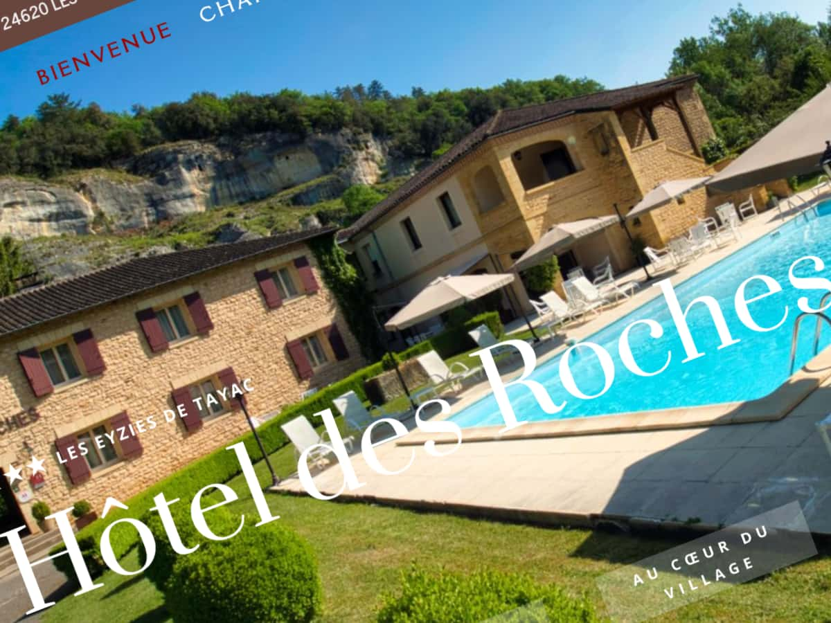 Site Internet Hôtel Roches Les Eyzies