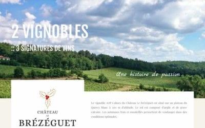 Site Internet pour les viticulteurs